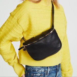 Clare V. Fanny Pack Supreme Perforated Belt Bag